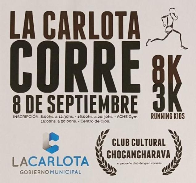 """Presentación de """"La Carlota Corre"""""""