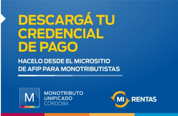 El viernes 20 vence el Monotributo Unificado Córdoba