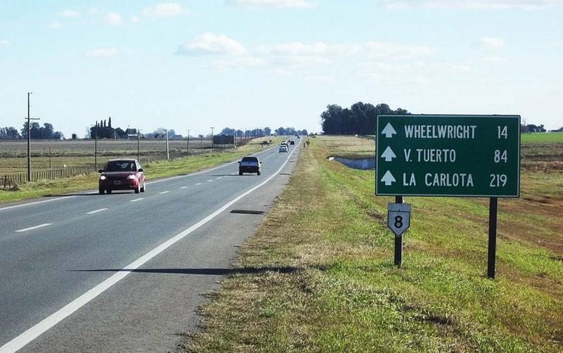 La Ruta 8 es la que más muertes provoca en la provincia de Córdoba