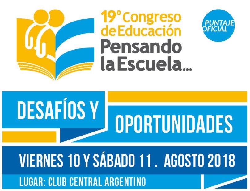19º Congreso de Educación Pensando la Escuela