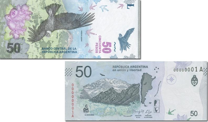 Nuevo billete de $50 empezará circular desde mañana