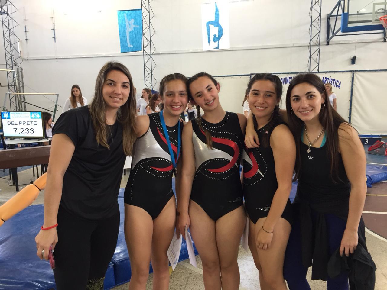 Gimnasia Artística en Alejandro: participación de gimnastas de Central
