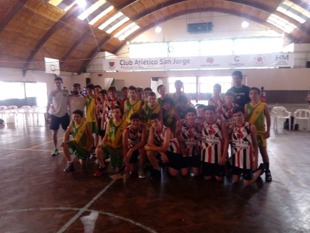 Básquet: Central participó en San Jorge