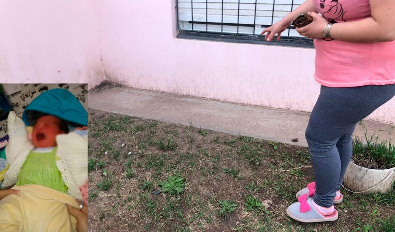 Abandonaron un bebé recién nacido en un barrio Río Cuarto