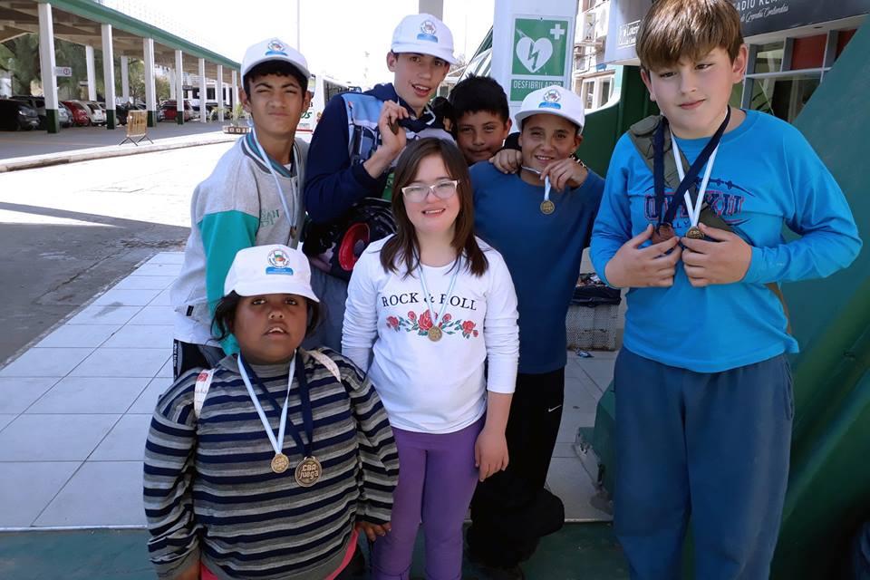 Deportistas de La Carlota participaron en el Córdoba juega