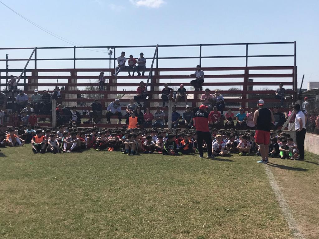 River Plate presente en La Carlota