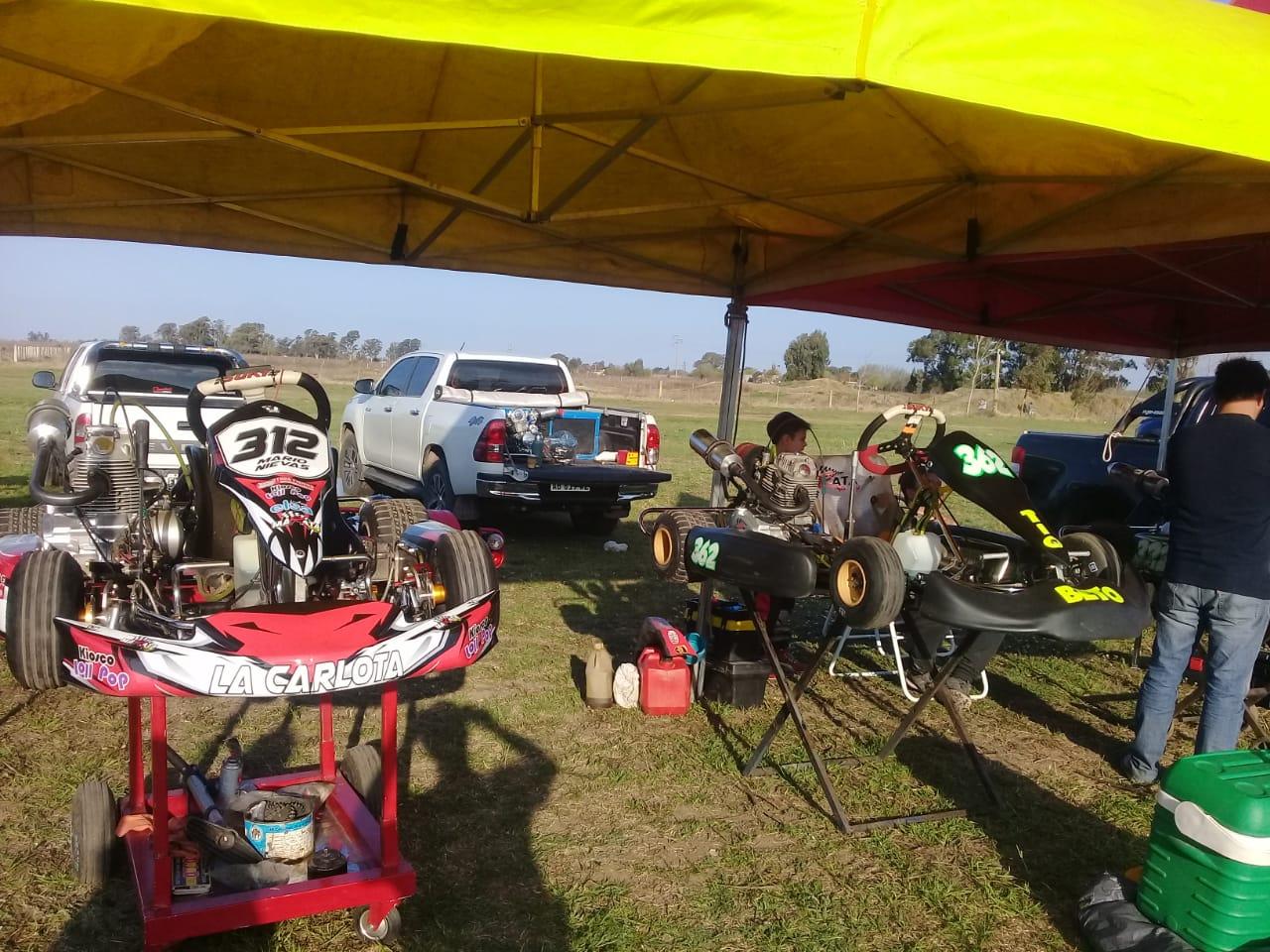 Clasificaciones de los pilotos de Karting locales