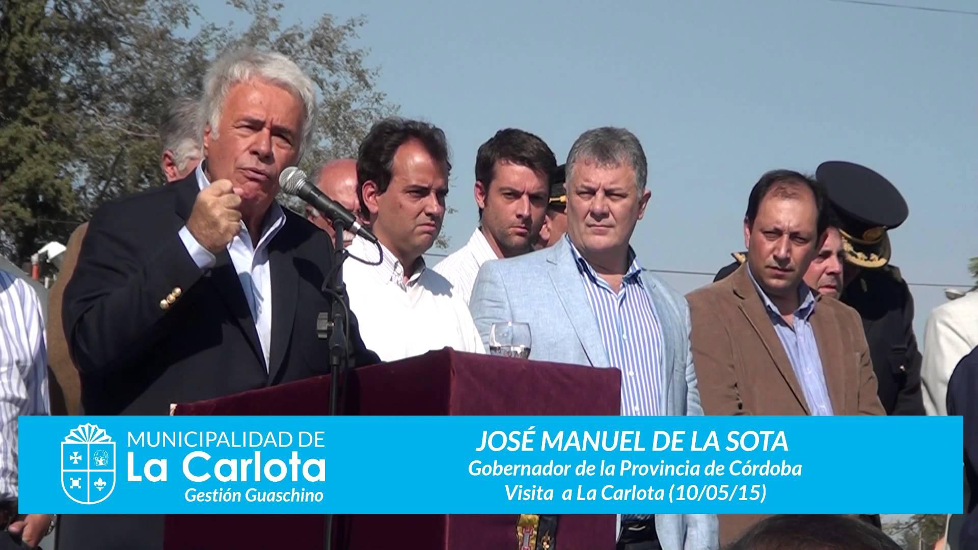 Jorge Montoya sobre el fallecimiento del ex-gobernador de la Sota: «Es un momento muy dificil»