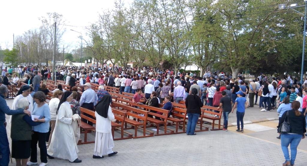 La transmisión en vivo de las fiestas patronales por la Virgen de la Merced alcanzó los 200 espectadores