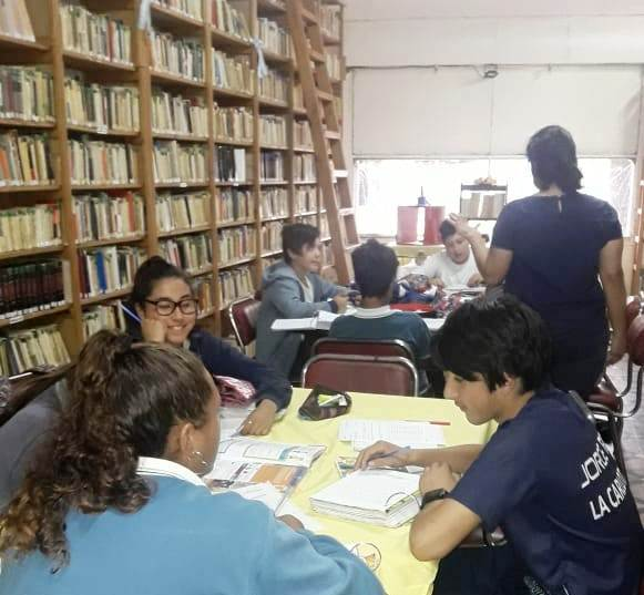TUTORÍAS DE LENGUA, INGLÉS Y MATEMÁTICA EN BIBLIOTECA FRAY MIGUEL MEDINA