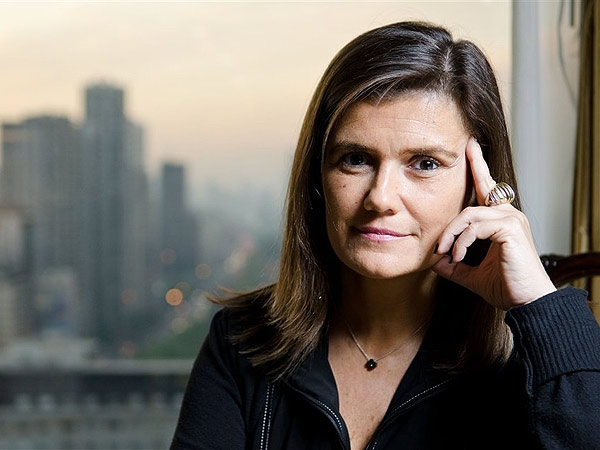 La destacada psicologa y escritora Pilar Sordo al cierre de su conferencia en La Carlota