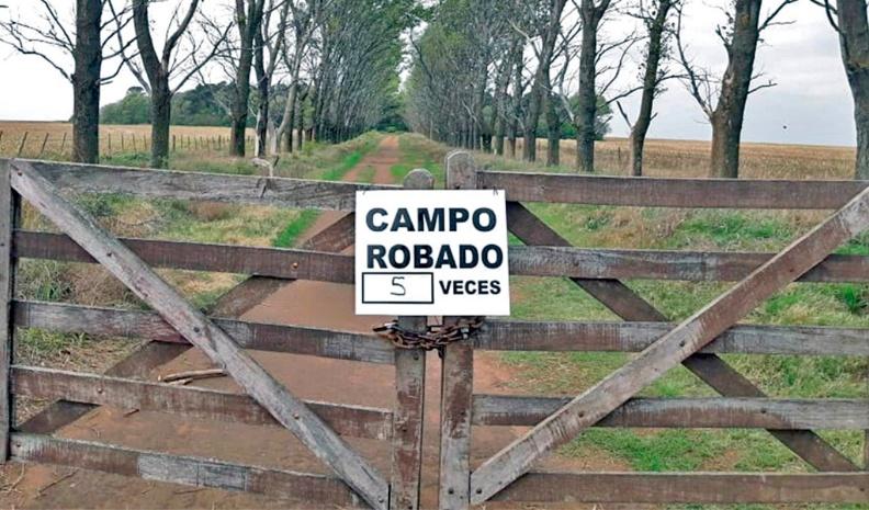 Preocupa seguidilla de robos en campos de Alejandro