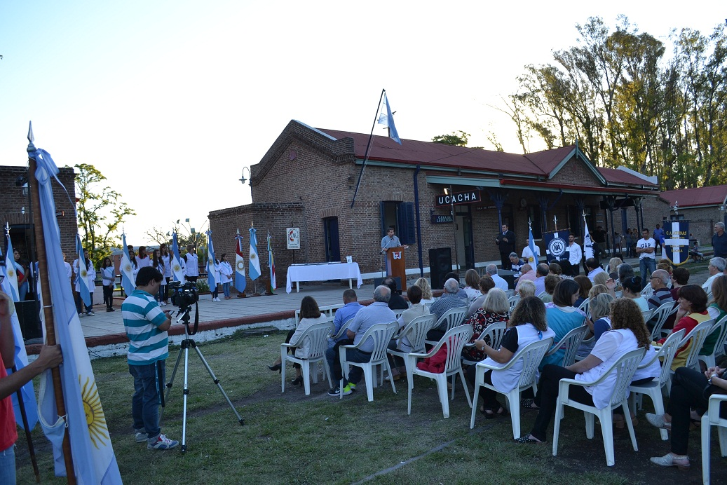 Acto por el 117º Aniversario de Ucacha