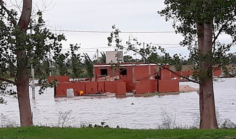 Cabrera se recupera luego de la amenaza de inundación