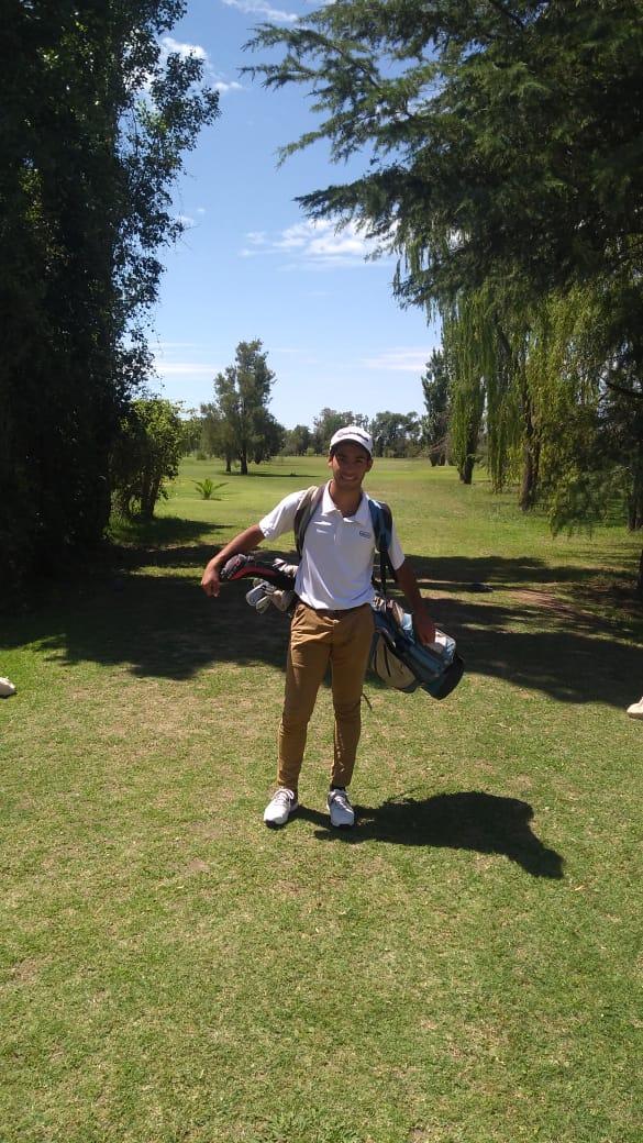 Golf: Guiñazú se quedó con el titulo mejor jugador del año
