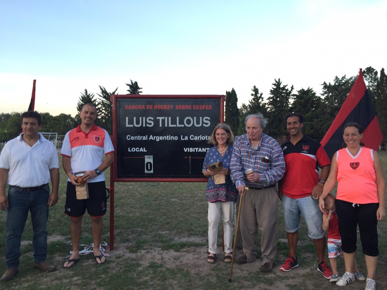 Hockey: Reconocimiento a Luis Tillous