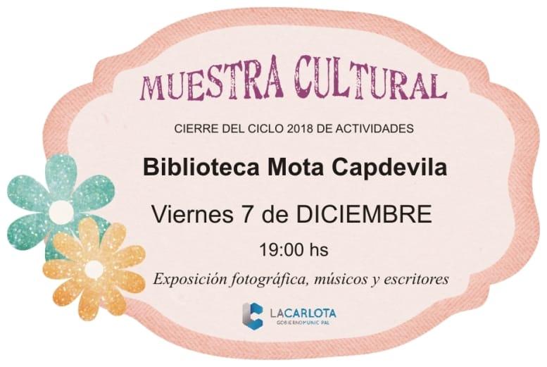 Encuentro cultural en biblioteca Mota Capdevila