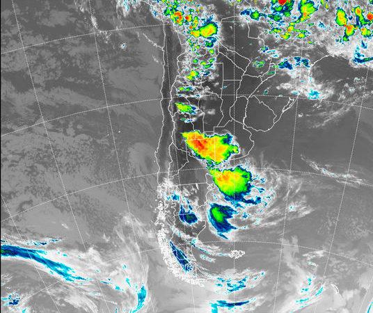 Alerta de tormentas fuertes para el sur de Córdoba