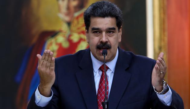 Maduro esta dispuesto a dialogar con la oposición y con EEUU