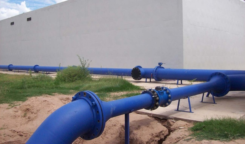 Autoridades y vecinos preocupados por la falta de agua en Laboulaye