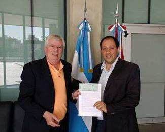 Gerardo Allende se suma como pre candidato a legislador provincial de UPC
