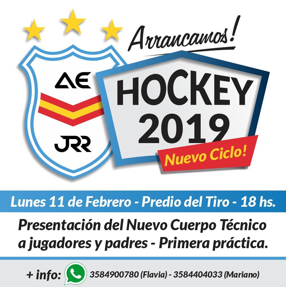 Hockey Ross: presentación de cuerpo técnico e inicio de  de temporada