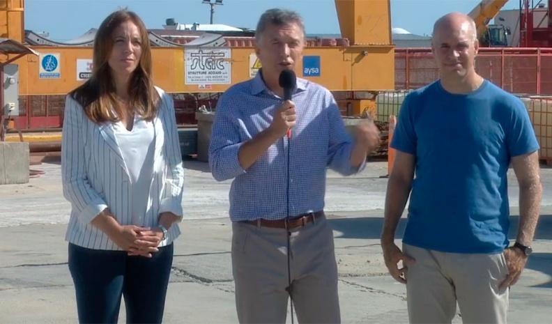 """Macri: """"Hay que crear los cimientos para que un país pueda crecer"""""""