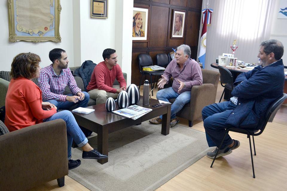 El intendente de la Ciudad de la Carlota, se reunió con el director del ente regional de desarrollo