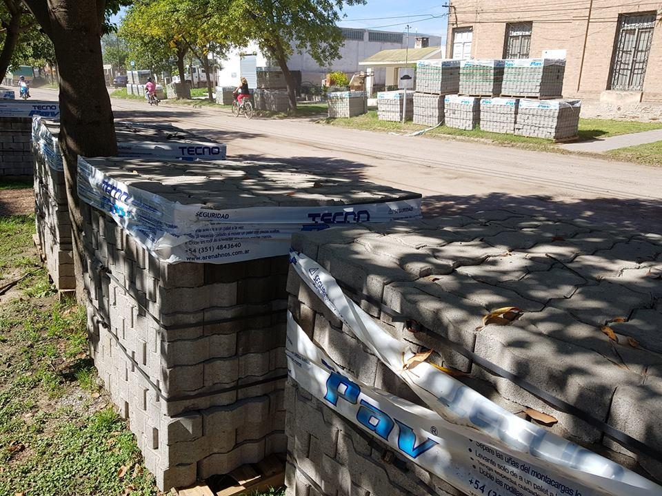 Pronto comenzarán obras de adoquinado en el sector este de Avenida Vélez Sarsfield