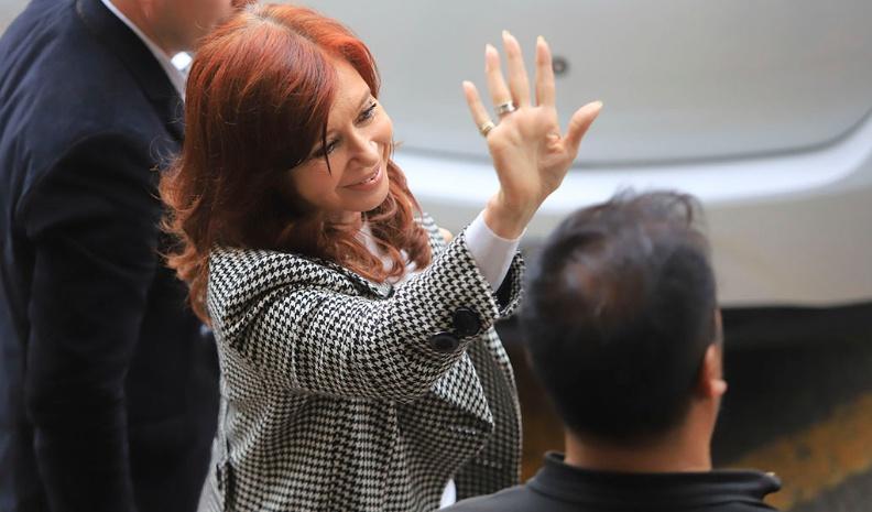 Cristina Kirchner asistió a la segunda audiencia del juicio en su contra