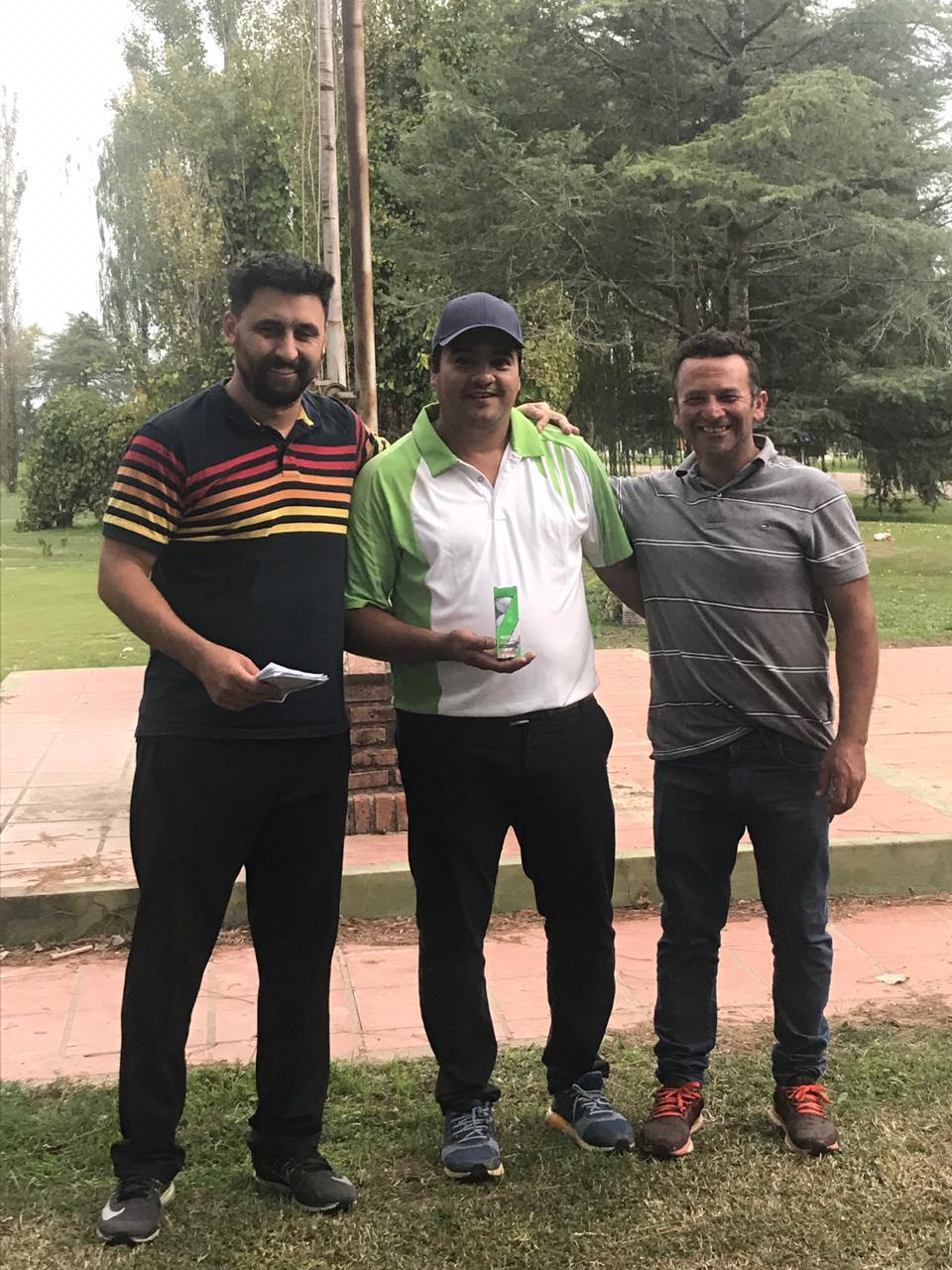 Guiñazu y Bodart los ganadores de la jornada de Golf