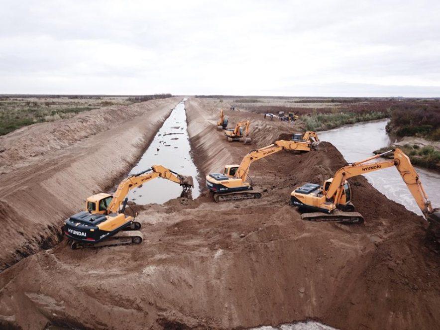 Ordenan con diversas obras el río saladillo al sur de Río Cuarto