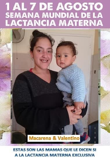 Desde el 1 al 7 de agosto: Semana de la lactancia materna