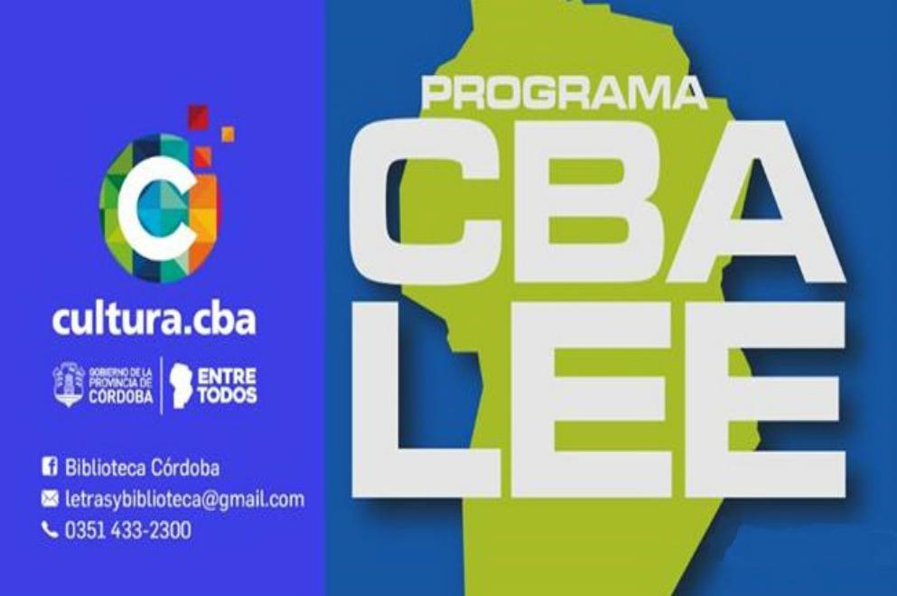 "Convocatoria abierta del programa ""Córdoba Lee"""