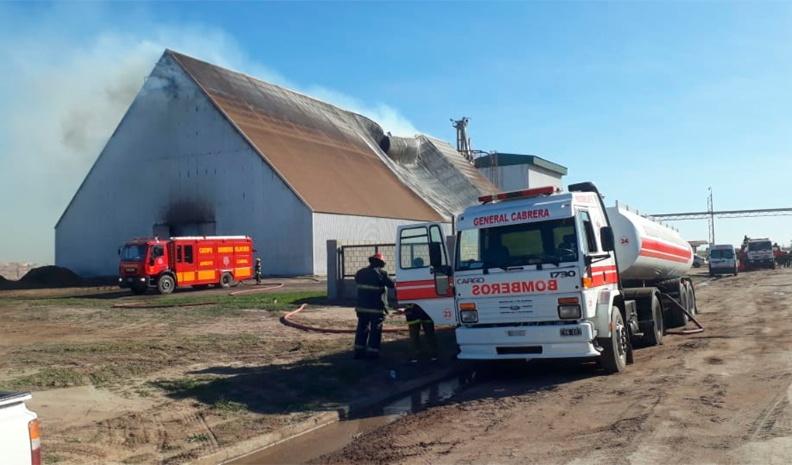 Alarma por un incendio en la generadora de energía de Ticino