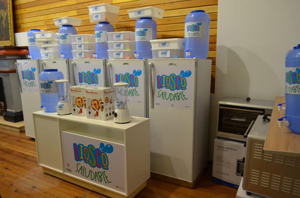 Instalarán kioscos saludables en todas las escuelas de Laboulaye