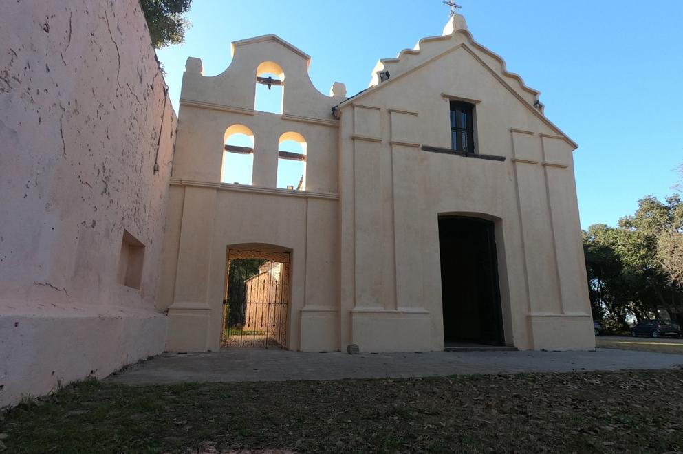 Restauran la histórica Capilla de Pilar