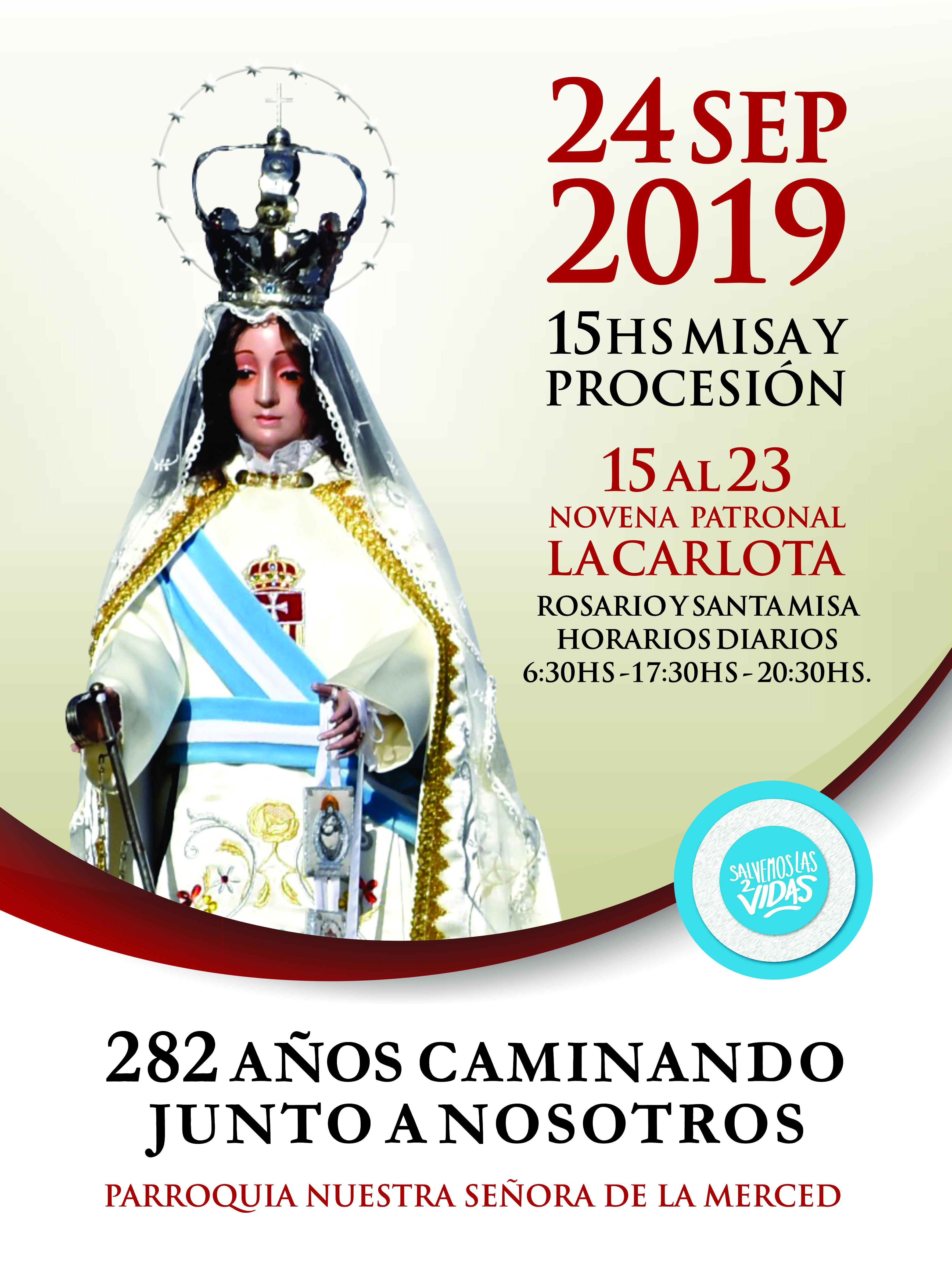 PROGRAMA DE LA NOVENA 2019