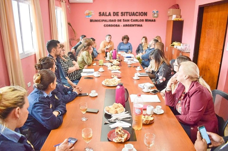 SAN CARLOS MINAS: crearon el consejo de la infancia