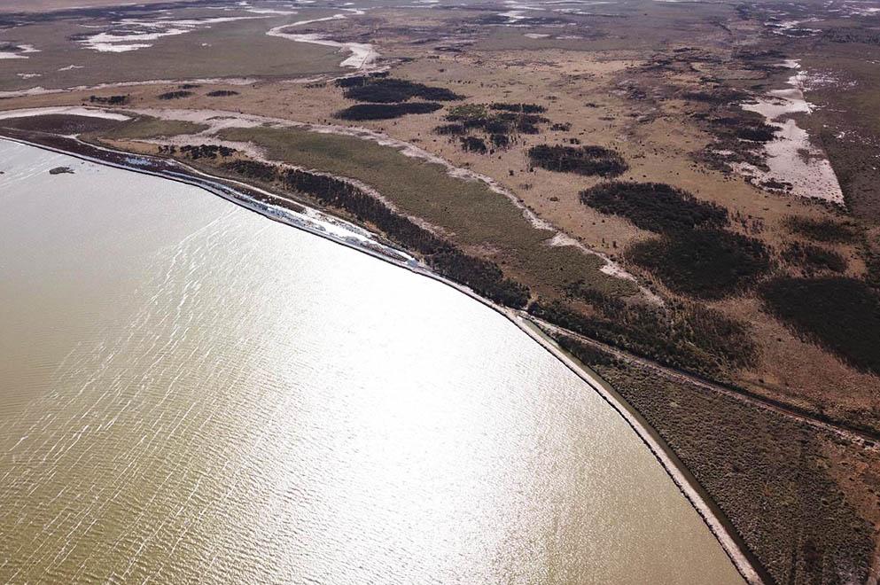 LABOULAYE: ejecutaron diversos trabajos para recuperar la laguna La Ranchera