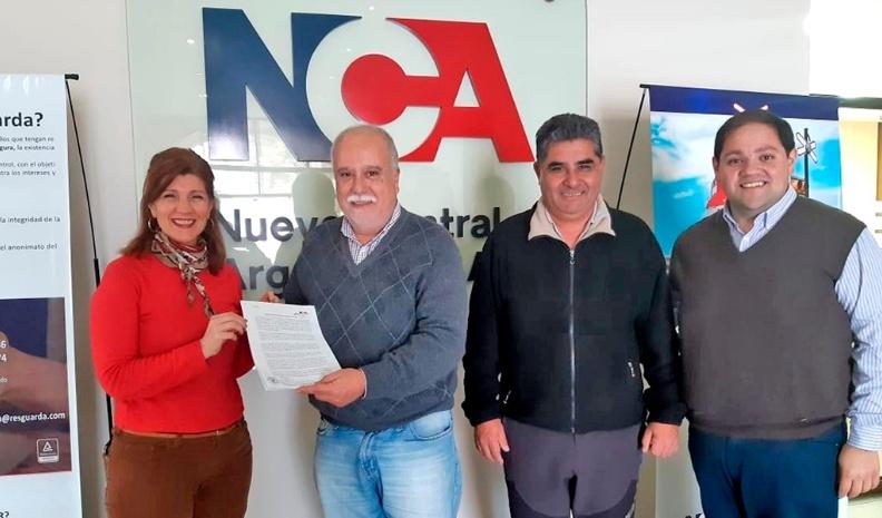 Ucacha firmó el convenio con NCA y recuperó predios del ferrocarril