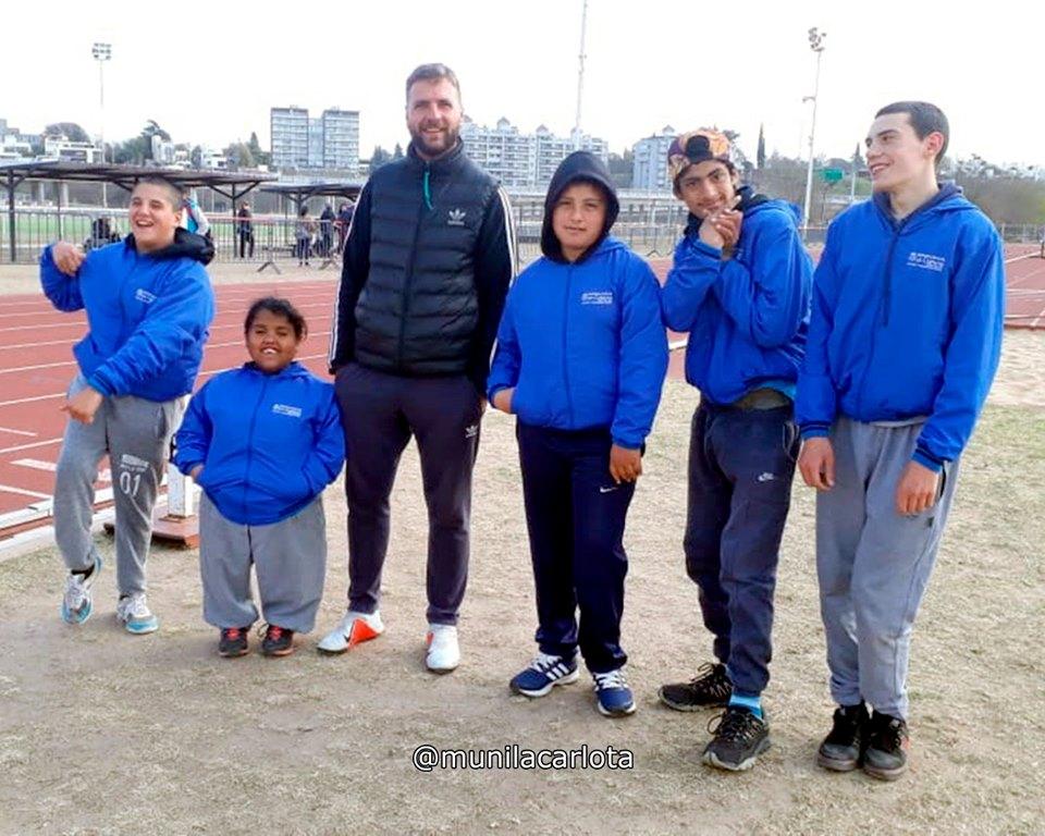 LA CARLOTA: la escuela municipal de deporte adaptado participó en el córdoba juega