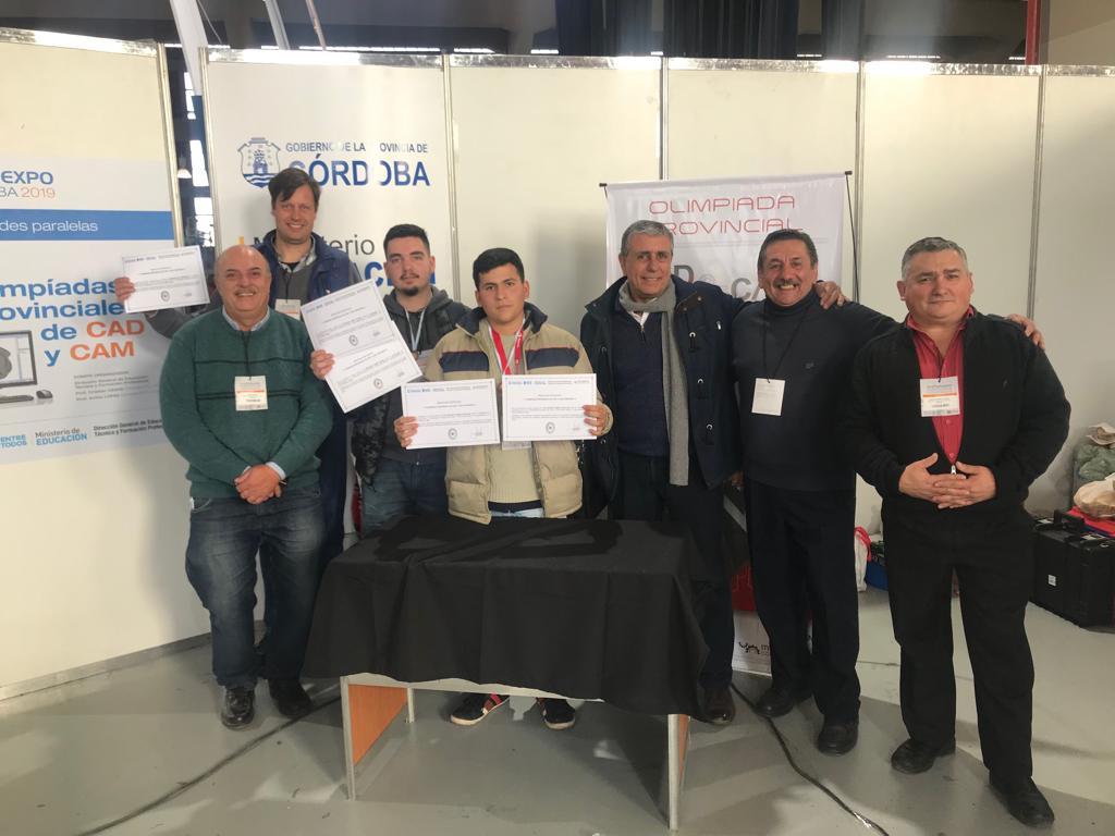 Nuevo podio para el ENET: Alumnos lograron el segundo puesto en las olimpiadas de Cad y Cam Cam