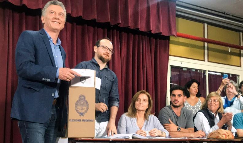 Macri: «Mañana estaré trabajando en la Casa Rosada en cualquier escenario»