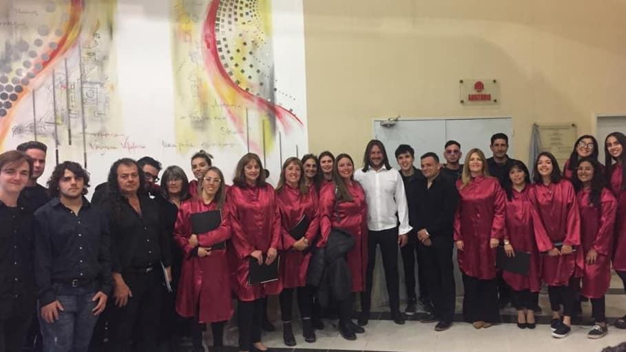 LA CARLOTA: agrupación Coral  actuó en Villa María en el 15º Encuentro Coral