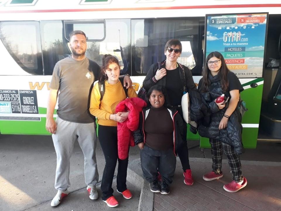 LA CARLOTA: Delegación de deportistas a Mar del Plata
