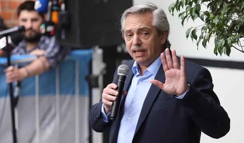 """Alberto Fernández: """"No podemos pagar la deuda en las condiciones que está la economía"""""""