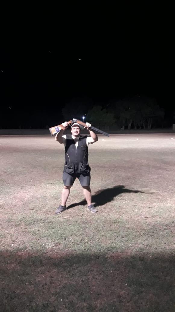 Tiro a la hélice:  Sebastián Cabrera Campeón Nacional