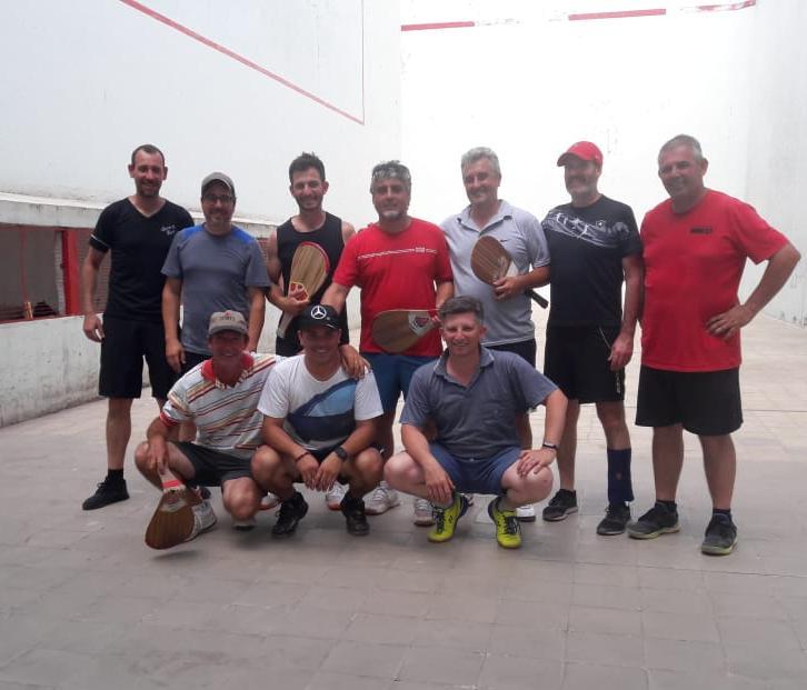 Pelota a Paleta  Aguerrevengoa y Pagliarone se adjudicaron el torneo de camaradería