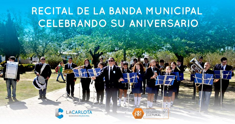 LA CARLOTA: Banda Municipal celebra su aniversario